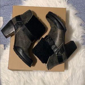 Wool rich women's boots